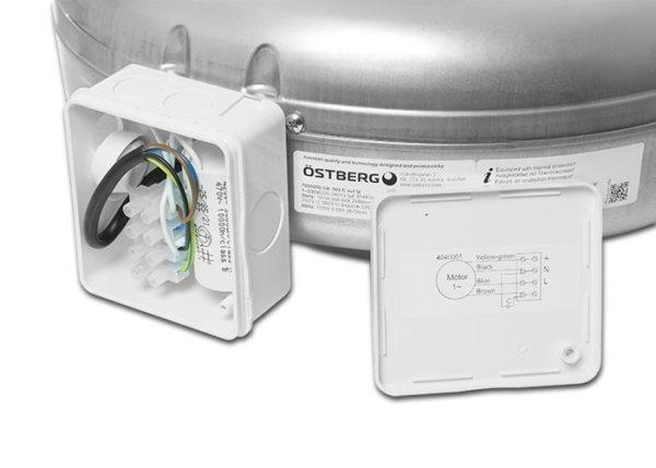Канальный вентилятор Ostberg CK 200 A 3