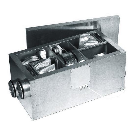 Приточно-вытяжная установка Ostberg HERU 50 s с регенерацией тепла 2